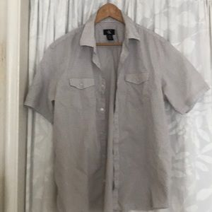 Calvin Klein men's shirt Large size 100% cotton